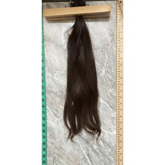 VIRGIN HAIR I-TIPS, CHESTNUT BROWN, 105gr, 21